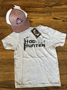 Youth Lil Hog Hunter T-shirt