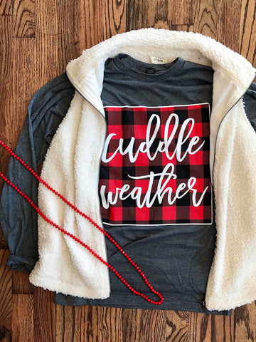 Cuddle Weather LS Tee