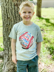 Baseball Short Sleeve Kid's T-Shirt