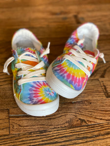 Forever Tie Dye Lace Up Sneakers