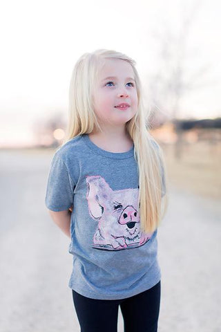 Penny The Pig Kid's T-Shirt