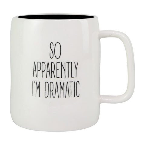 So Apparently I'm Dramatic Ceramic Mug