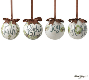 Assorted Message Ornament