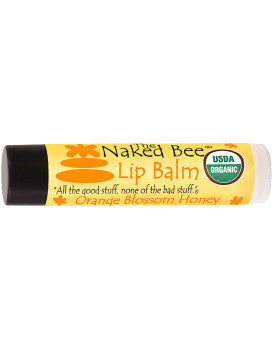Naked Bee Orange Blossom Honey Lip Balm