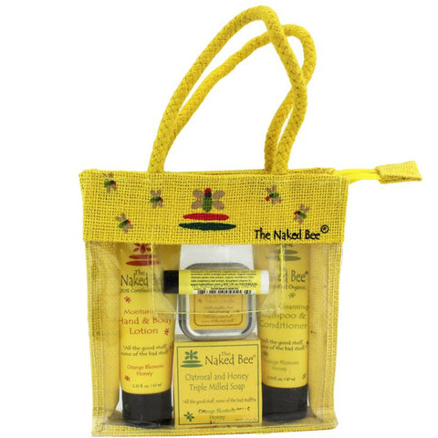 The Naked Bee Gift Travel Kit