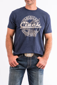 Cinch Men's Navy Graphic T-Shirt