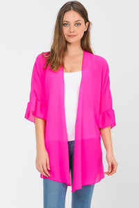 The Bright Bell Sleeve Cardigan Collection