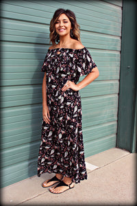 The Tara Off the Shoulder Maxi