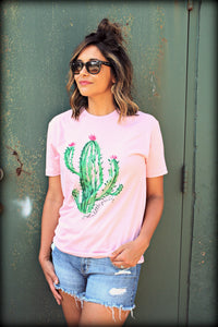 Pretty in Pink Cactus Tee