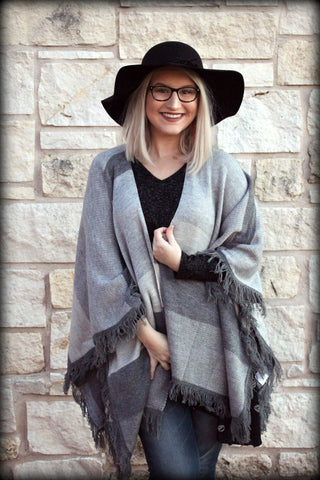 The Striped Gray Pancho