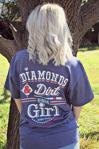 Diamonds & Dirt Tee