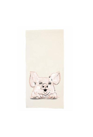 Penny The Pig Tea Towel