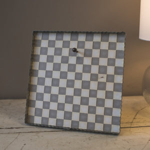Putty Checkered Display Board