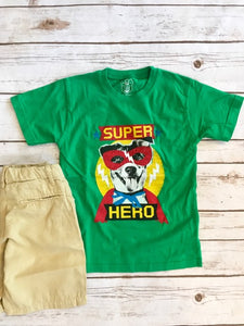Super Hero Dog Kid's T-Shirt