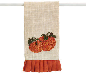 Pumpkin Tea Towel - Autumn Hayride