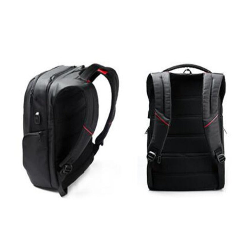Men's Business Security USB Charger Backpack