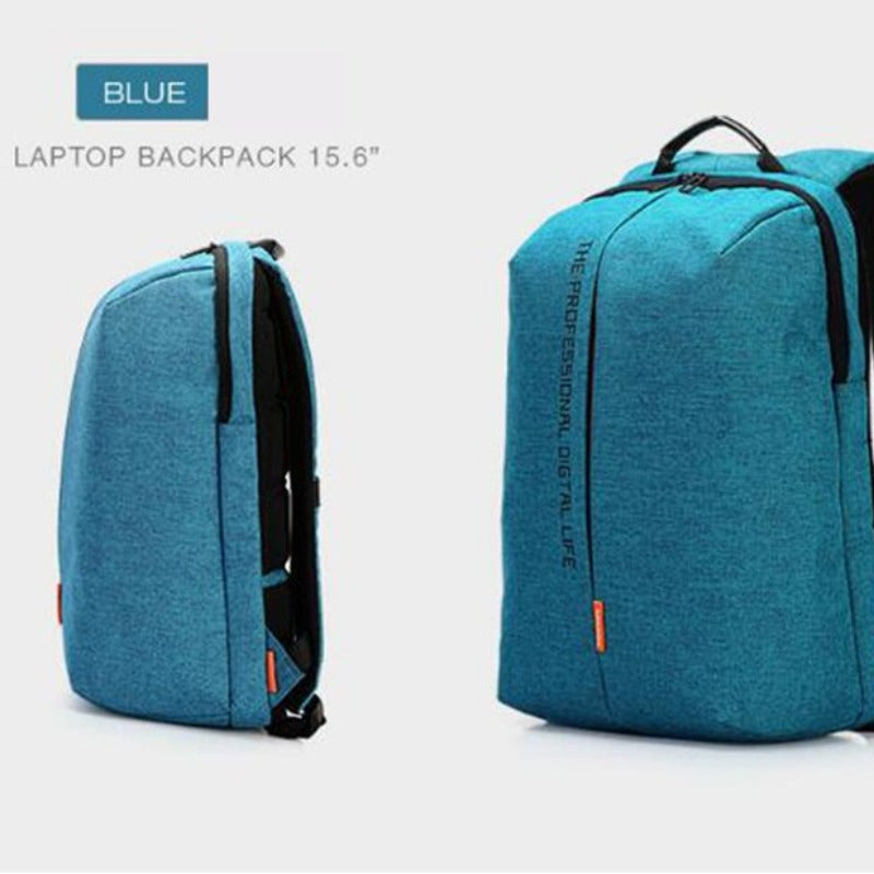 15.6 Men's Waterproof Security Laptop Backpack