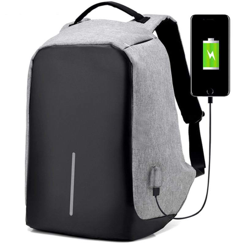 No Brainer USB Charging Anti-Theft Backpack – Original