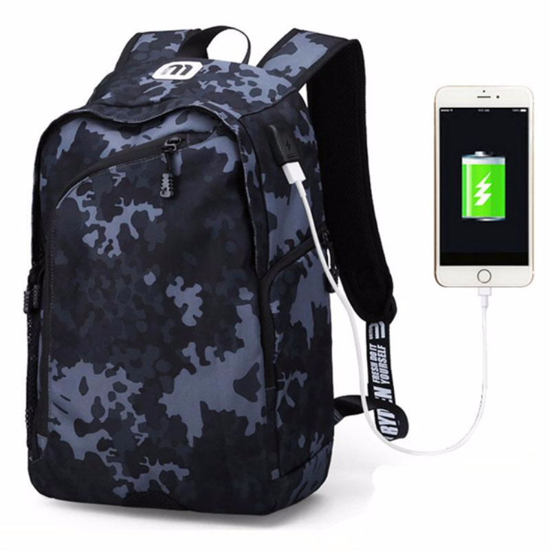 Multi-Function USB Charging 14 Laptop Backpack