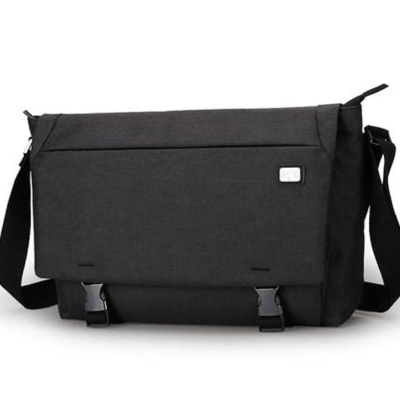 Oxford Style Crossbody Messenger Bag