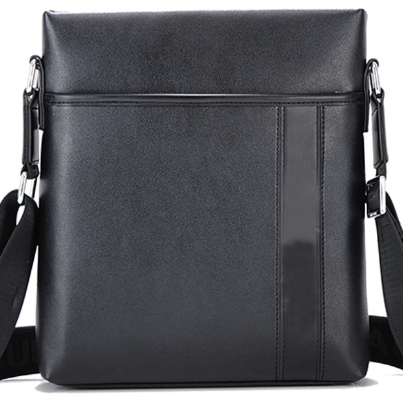 NEW Men Fashion PU Leather Cross-body Bag