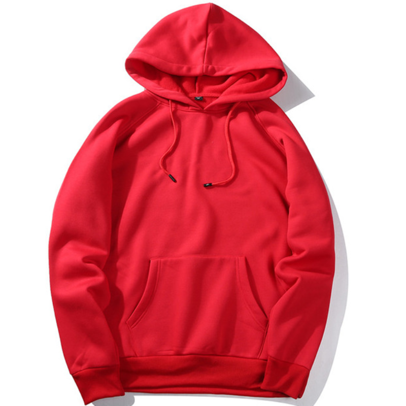 High-Quality Men's Fleece Hoodie
