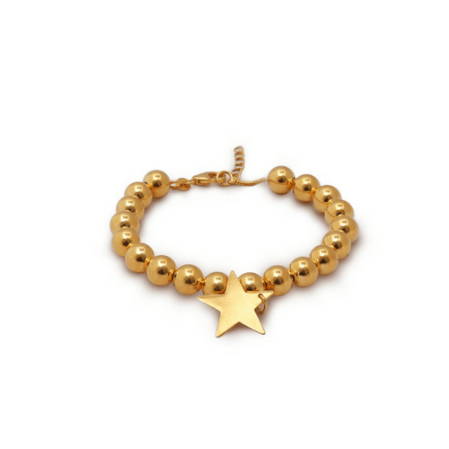 Star Bracelet Gold myhappinesz collection urbanzaveri komal