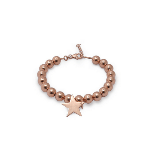 Star Bracelet Rose Gold myhappinesz collection urbanzaveri komal