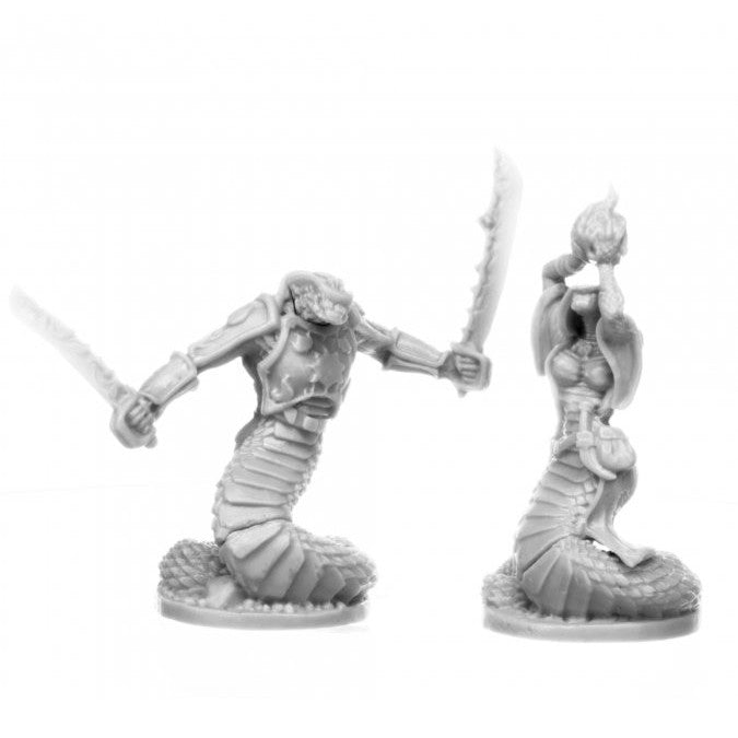 Reaper Miniatures: Bones: Nagendra Leaders (2)