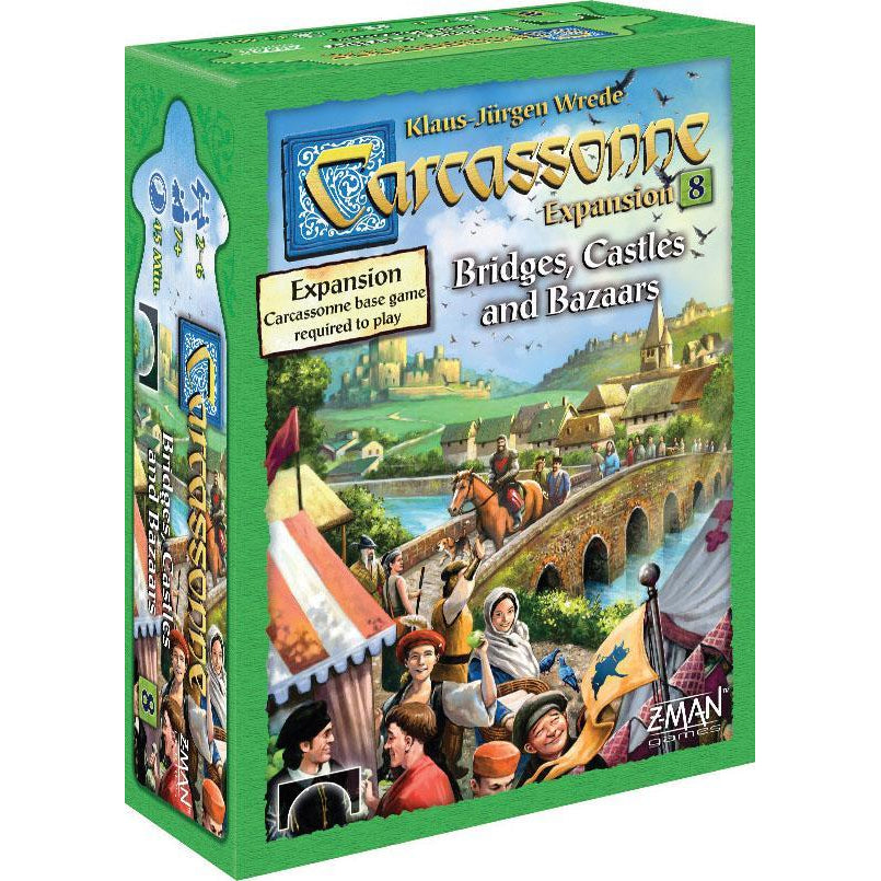 Carcassonne Expansion 8: Bridges, Castles & Bazaars - On the Table Games