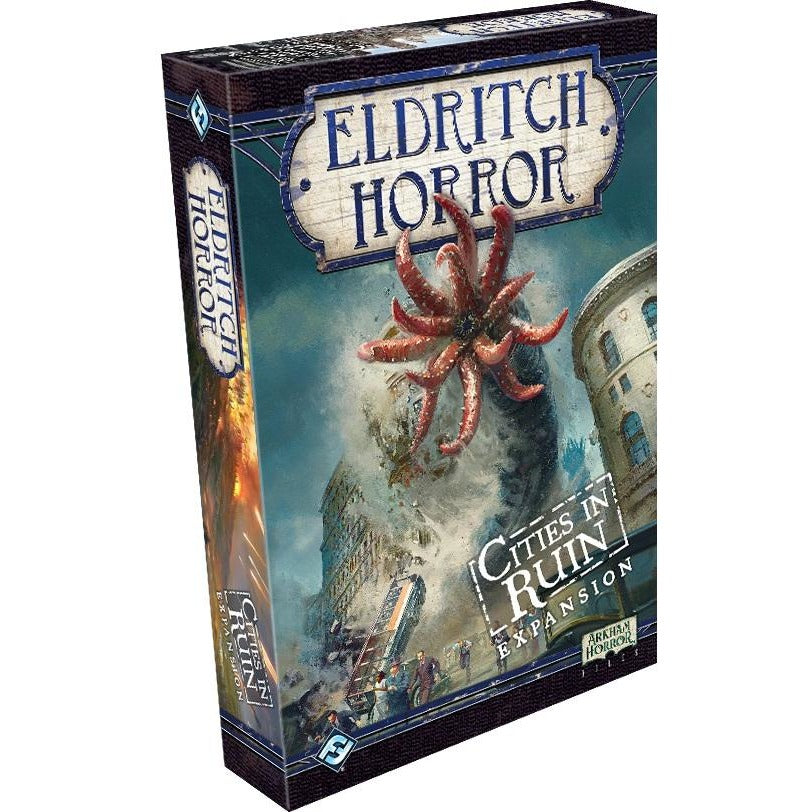Eldritch Horror Cities in Ruin Expansion - On the Table Games