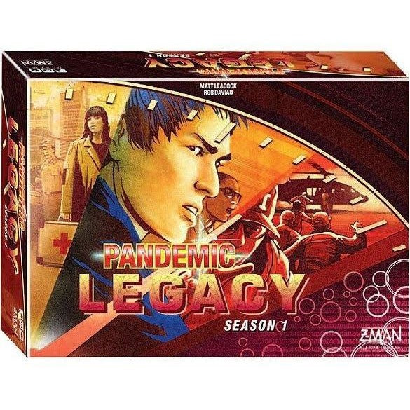 Pandemic Legacy Season 1 (Red) - On the Table Games