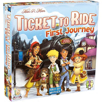Ticket to Ride: First Journey - Europe - On the Table Games