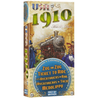 Ticket to Ride: USA 1910 Expansion - On the Table Games