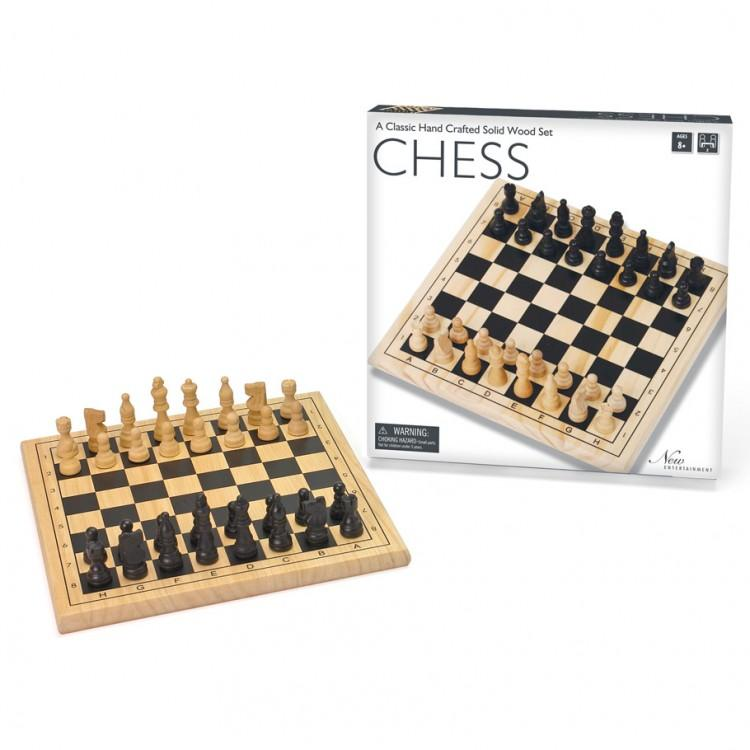 Board Game - Wooden Chess Set