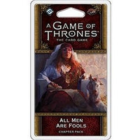 A Game of Thrones: The Card Game - All Men Are Fools Chapter Pack - On the Table Games