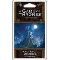 A Game of Thrones: The Card Game - Calm Over Westeros Chapter Pack - On the Table Games