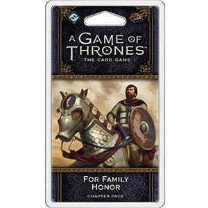 A Game of Thrones: The Card Game - For Family Honor Chapter Pack - On the Table Games