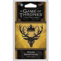 A Game of Thrones: The Card Game - House Baratheon Intro Deck - On the Table Games