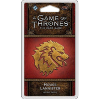 A Game of Thrones: The Card Game - House Lannister Intro Deck - On the Table Games