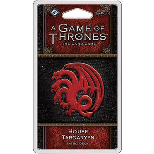 A Game of Thrones: The Card Game - House Targaryen Intro Deck - On the Table Games