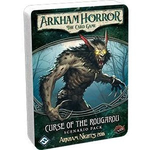 Arkham Horror: The Card Game - Curse of the Rougarou Expansion - On the Table Games