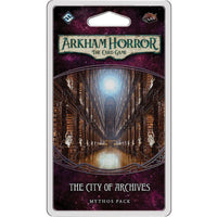 Arkham Horror: The Card Game - The City of Archives Mythos Pack - On the Table Games