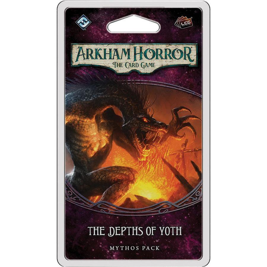 Card Game - Arkham Horror: The Card Game - The Depths Of Yoth Mythos Pack