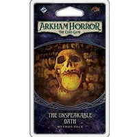 Arkham Horror: The Card Game - The Unspeakable Oath Mythos Pack - On the Table Games