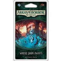 Arkham Horror: The Card Game - Where Doom Awaits Mythos Pack - On the Table Games