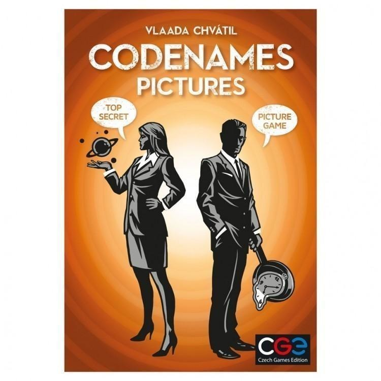Codenames: Pictures - On the Table Games
