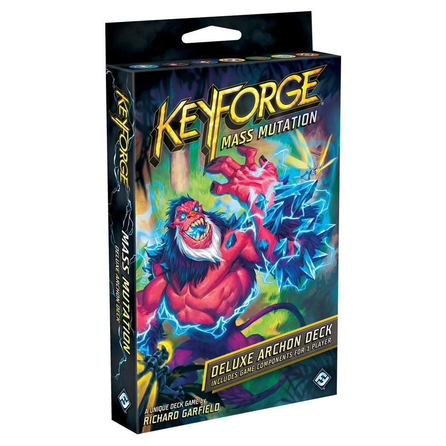 Card Game - KeyForge: Mass Mutation - Deluxe Deck