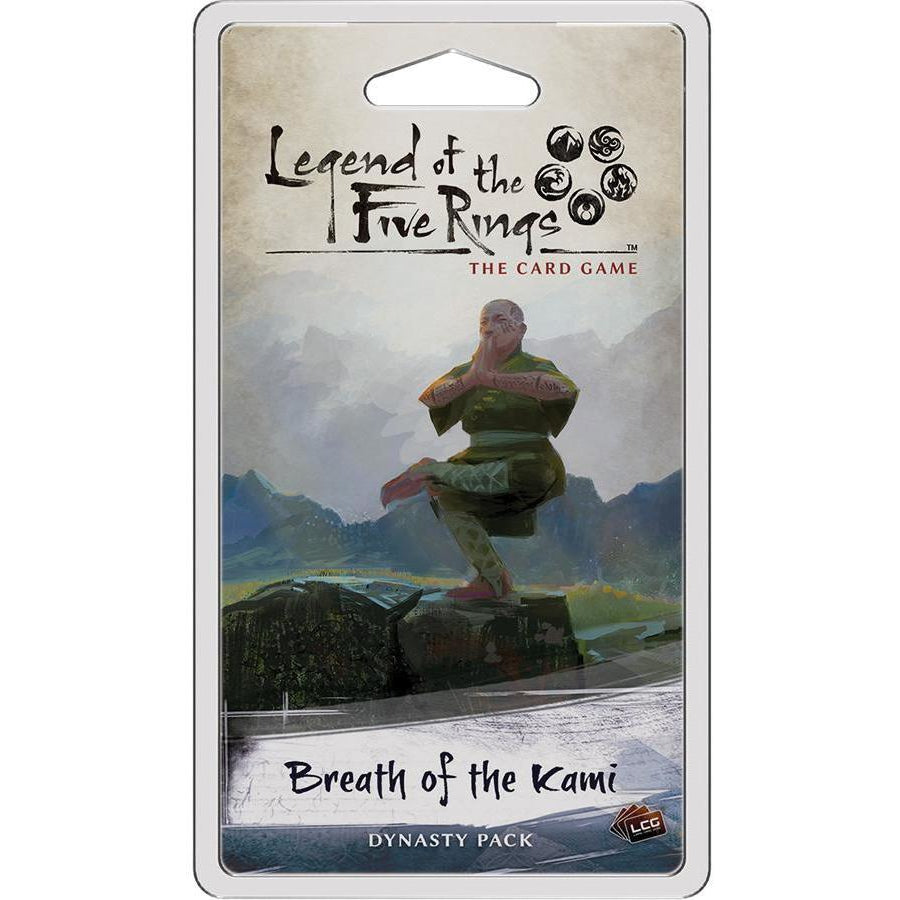 Legend of the Five Rings: The Card Game - Breath of the Kami Dynasty Pack - On the Table Games