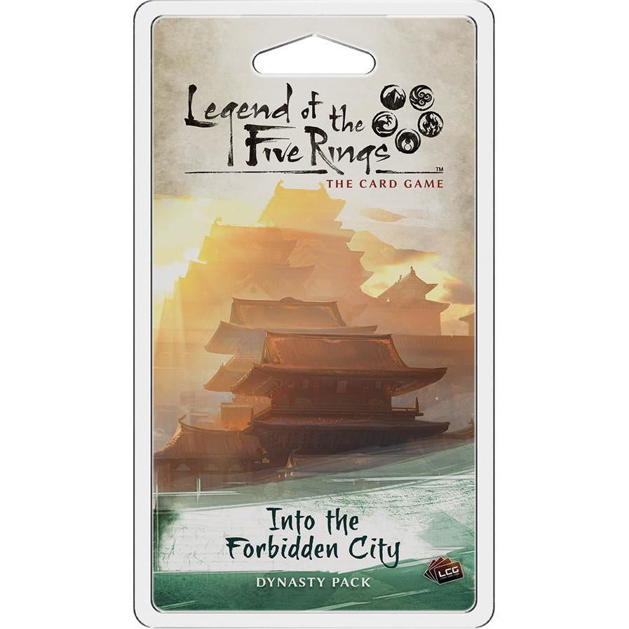 Legend of the Five Rings: The Card Game - Into the Forbidden City Dynasty Pack - On the Table Games